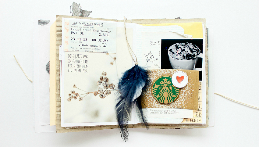 Upcycled Crossover Mini Album with Janna Werner | @BigPictureClasses