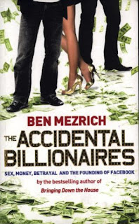 Books For Men Book Reviews! The Accidental Billionnaires by Ben Mezrich