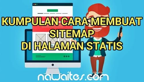 Kumpulan Sitemap Cocok Untuk Blog Kalian