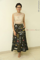 Taapsee Pannu in transparent top at Anando hma theatrical trailer launch ~  Exclusive 113.JPG