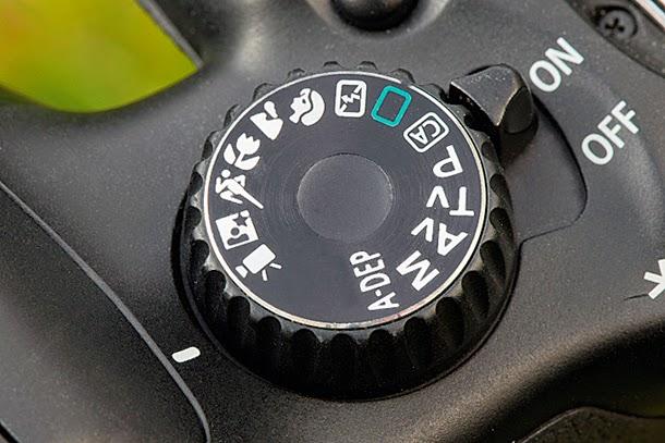 Movie Mode kamera DSLR