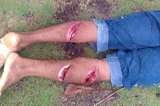 O índio da tribo Tupinambá foi assassinado com requinte de crueldade no distrito de Olivença - Ilhéus Bahia...