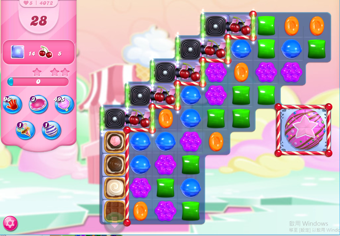 Candy Crush Saga level 4072