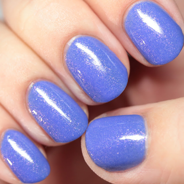 Blue-Eyed Girl Lacquer The Stars Are Crystal Lights