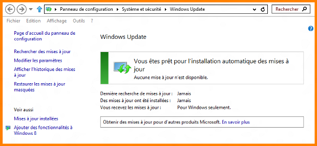 Windows 8 : Windows Update ( wuapp.exe )
