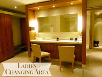 Grayshott Spa Ladies Changing Area