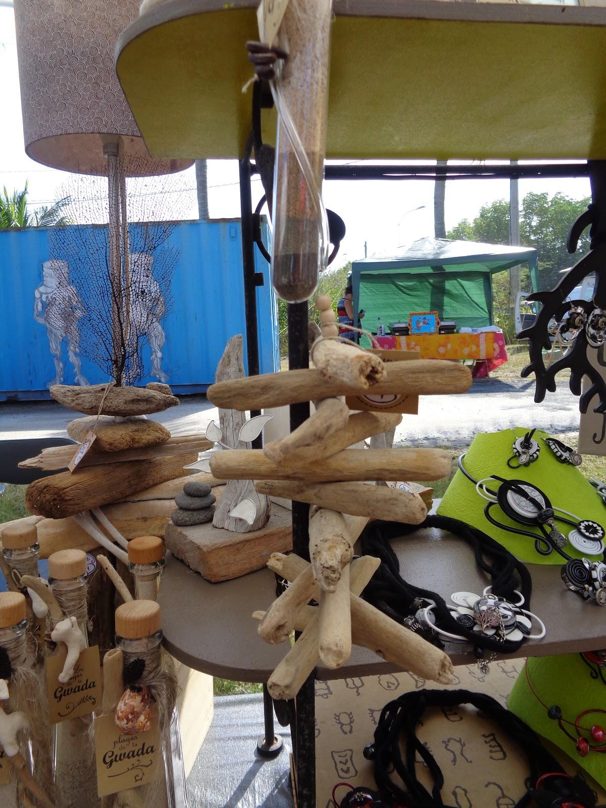 Guadeloupe ou le voyage de cawoll l 39 art du bois flott ou for Acheter du bois flotte