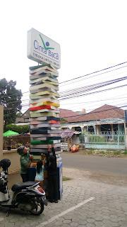 Perpustakaan bogor, perpustakaan cinta baca, tempat pinjam buku