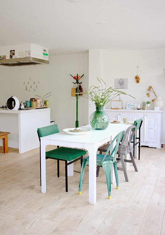 {Get The Look} How to mix and match dining chairs and make it work! - Little House of Four