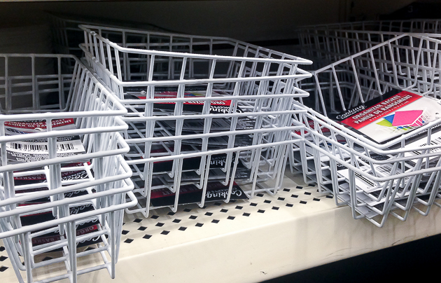 dollar tree wire baskets