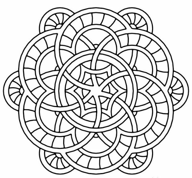 mandala zum ausmalen - ausmalbilder mandala - mandala zum