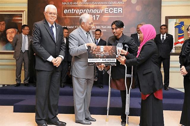 Abdul Latif Sohor, Usahawan OKU Berjaya, entrepreneur ECER, ECERDC,