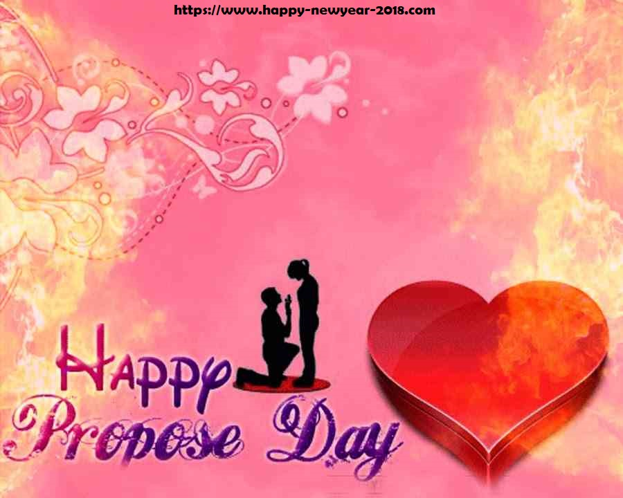 Happy Propose Day 2018 Images Quotes SMS Wallpaper ~ Happy New ...