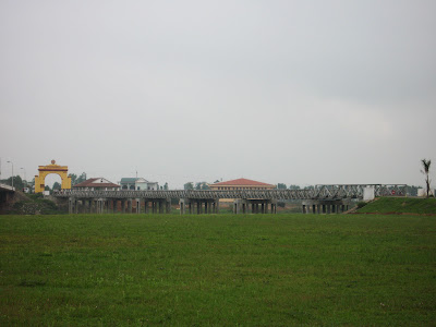 Border between North and South Vietnam