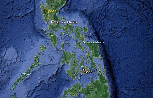 Mapa-Bohol-Filipinas