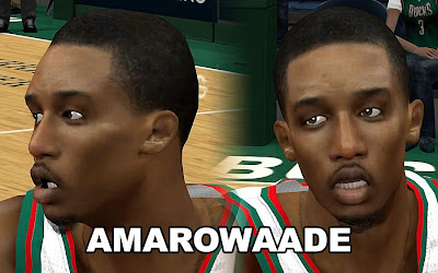 NBA 2K13 Brandon Jennings Cyberface Patch