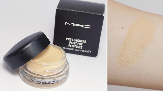 Tops & Flops der letzten Wochen #3  MAC - Pro Longwear Paint Pot (Soft Ochre)