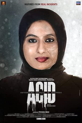 Acid Astounding Courage In Distress 2020 Hindi 480p 300MB HDRip