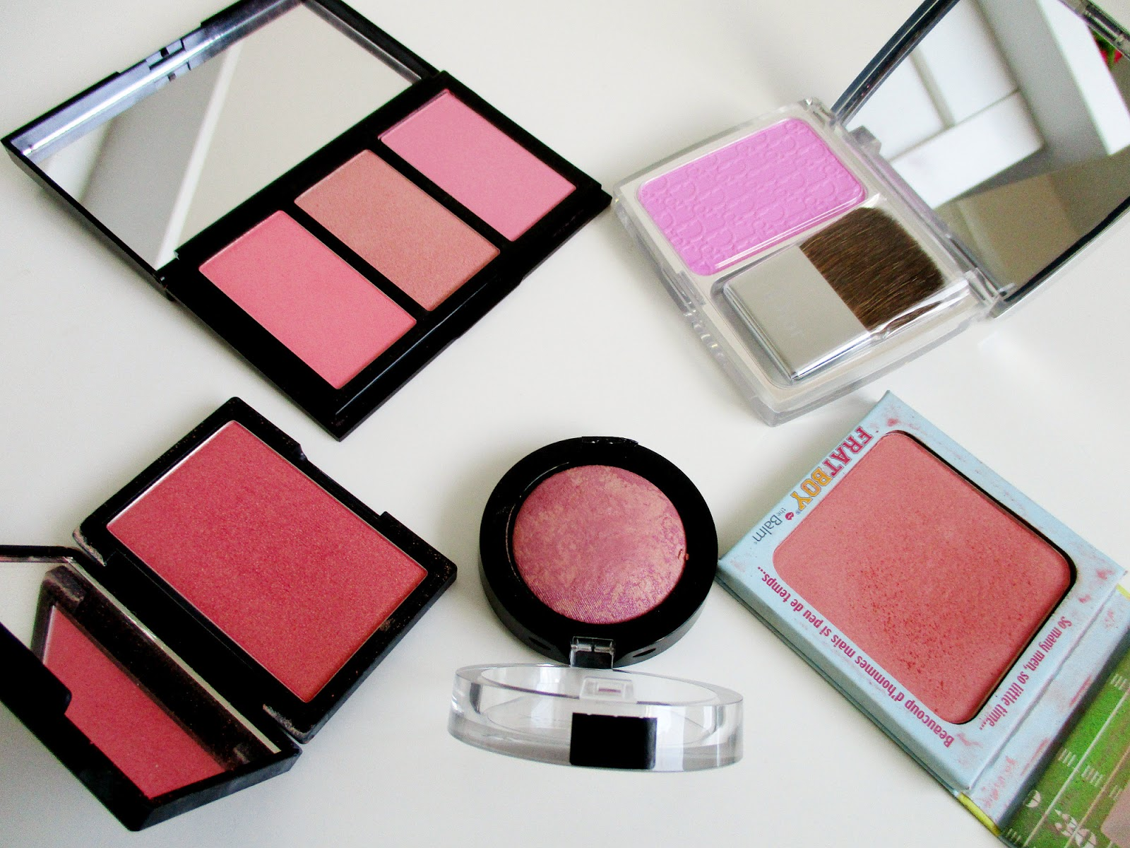 My Top Blush Picks For Spring/Summer