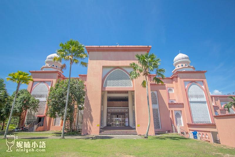 【沙巴亞庇景點】沙巴大學粉紅清真寺。東南亞最美麗的大學