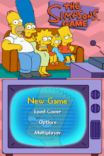 The Simpsons Game PSP Highly Compressed