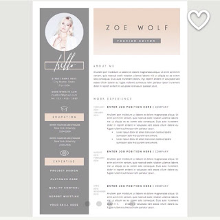 How To Build A Fashion Cv Becky Padgett