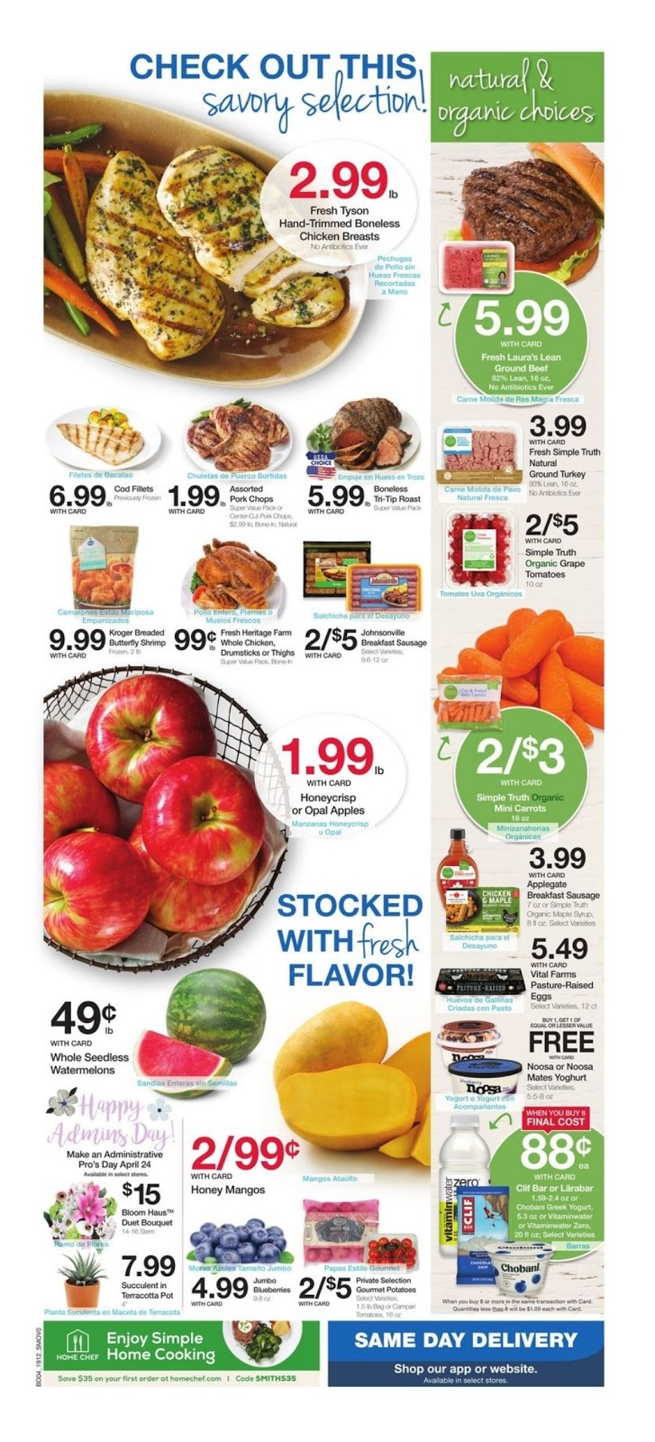 Smith's Weekly Ad April 24 - 30, 2019 - Coupons and Deals