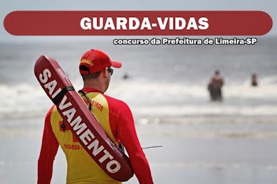 Concurso Guarda-Vidas de Limeira SP 2018