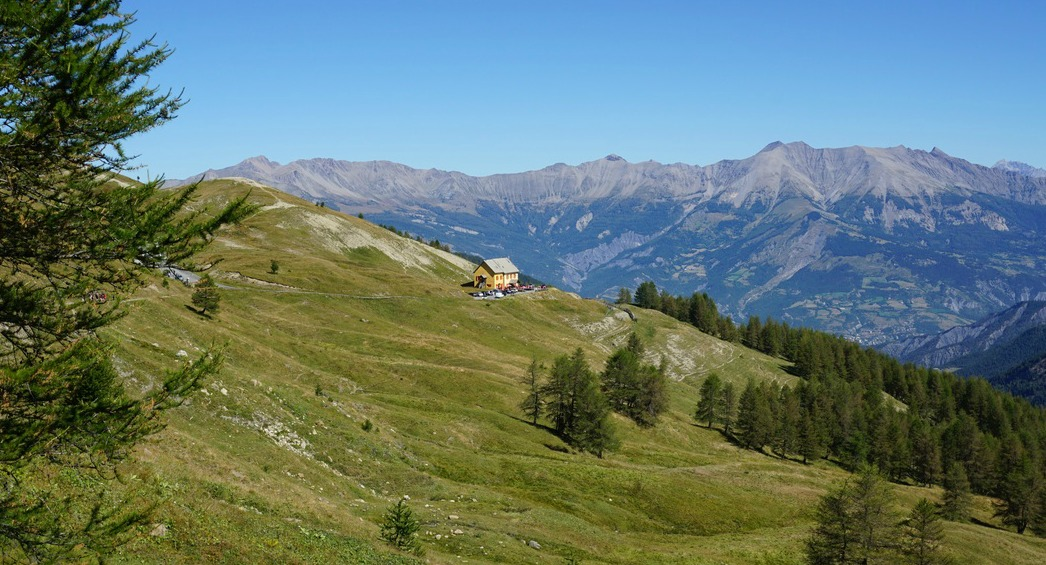 Refuge at Col d'Allos