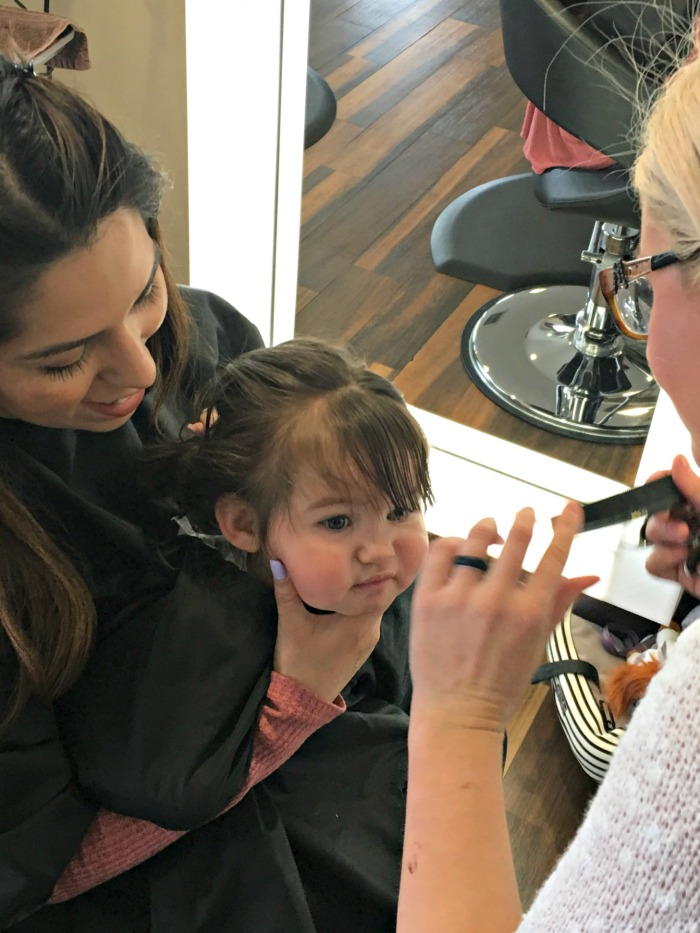 simple tips for baby's first haircut