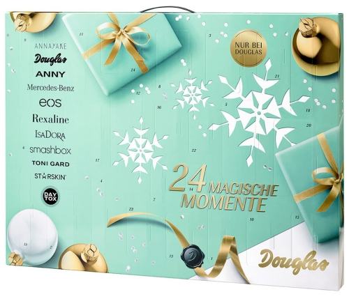 Douglas beauty Advent calendar 2016 calendrier de l'avent Adventskalender
