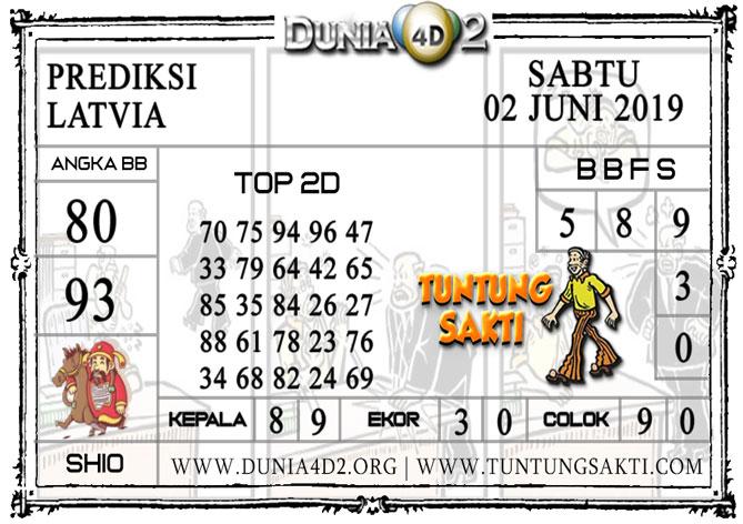 """Prediksi Togel """"LATVIA"""" DUNIA4D2 02 JUNI 2019"""