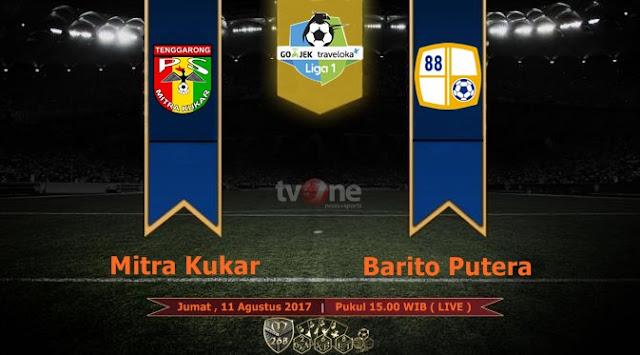 Prediksi Bola : Mitra Kukar Vs Barito Putera , Jumat 11 Agustus 2017 Pukul 15.00 WIB @ TVONE