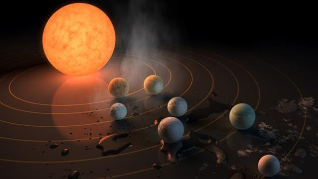 TRAPPIST-1's worlds too far away to be relied on for a rainy day