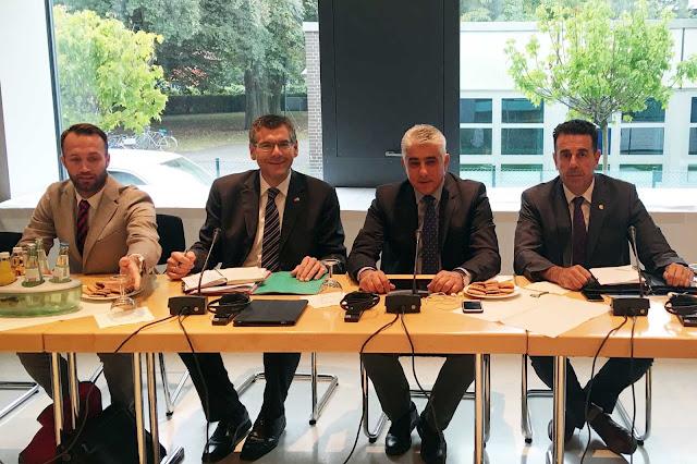 Στο Βερολίνο ο Κωστούρος - Έτοιμος ο Δήμος Ναυπλιέων να υποδεχθεί  την 6η Ελληνογερμανική συνέλευση