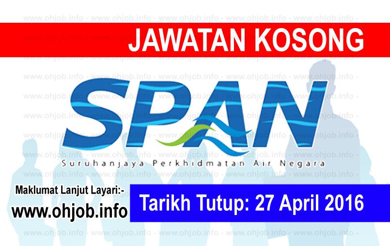 Jawatan Kerja Kosong Suruhanjaya Perkhidmatan Air Negara (SPAN) logo www.ohjob.info april 2016