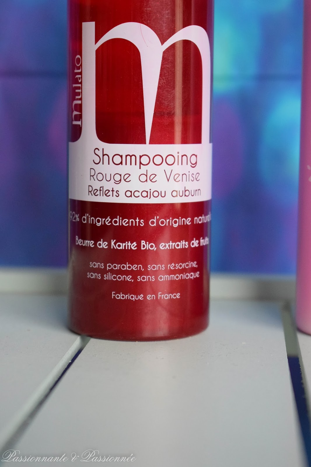 shampoing rouge