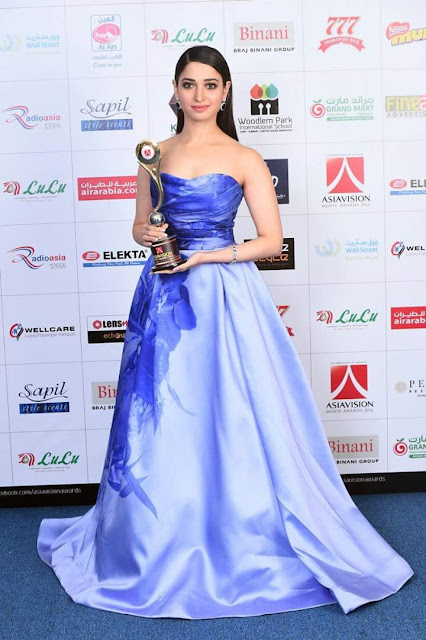 Actress Tamanna at AsiaVision Movie Awards 2016