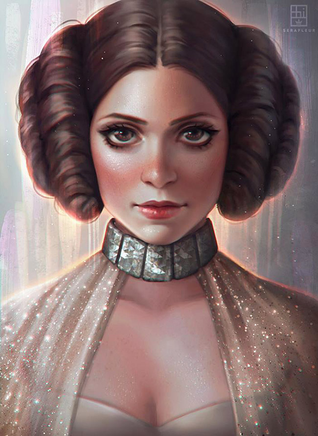 Serafleur aka Abigail Diaz - Asian Star Wars Art on YellowMenace.net
