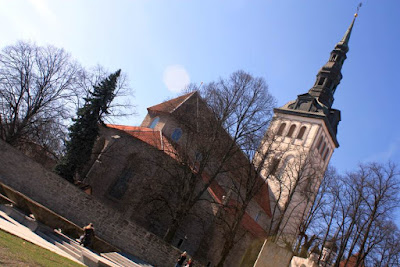 Saint Nicholas church in Tallinn