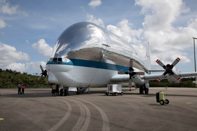 NASA 941 Aero Spacelines Super Guppy, EM-1 Orion Servis Modülü