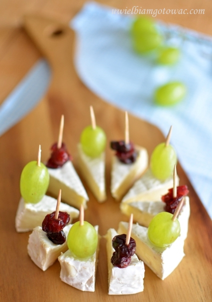 Camembert na imprezę (Przekąska z sera camembert)