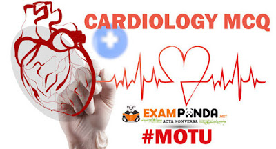 cardiology MCQ question for staff nurses and medical exam