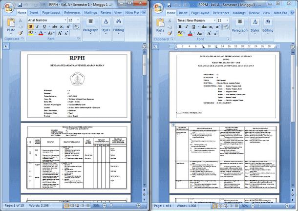 Perangkat Pembelajaran TK Kelompok A (RPPH RPPM PROTA PROSEM dan Penilaian Harian) Kurikulum 2013