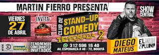 Poster 2 Diego Mateus en Martin Fierro