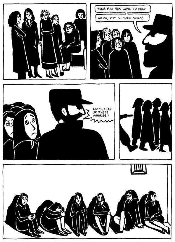 Read Chapter 16 - The Socks, page 156, from Marjane Satrapi's Persepolis 2 - The Story of a Return