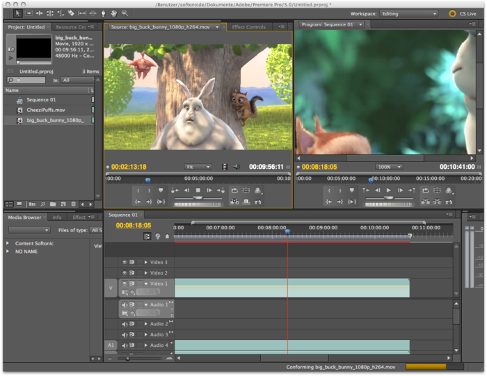 Adobe premiere pro cs5 — скачать программу для windows.