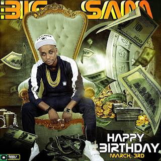 Happy birthday to BIG SAM