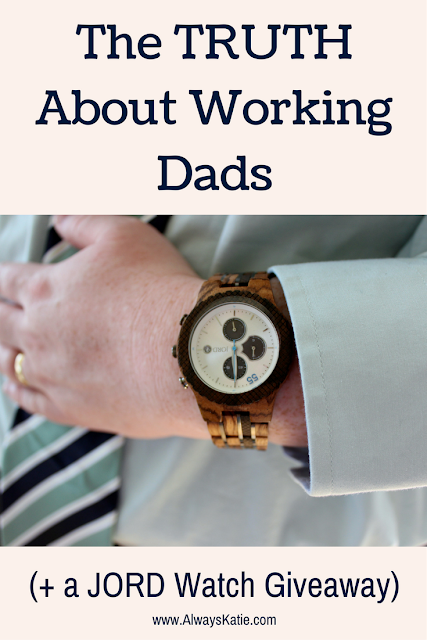 working dad time gift unique men's wood watch giveaway