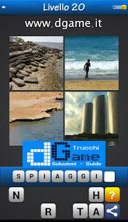 PACCHETTO 6 Soluzioni Trova la Parola - Foto Quiz con Immagini e Parole livello 20